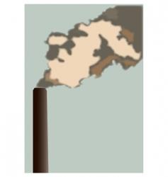 chimneystalk vector image vector image