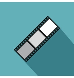Film strip icon flat style vector