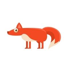 Fox Simplified Cute vector
