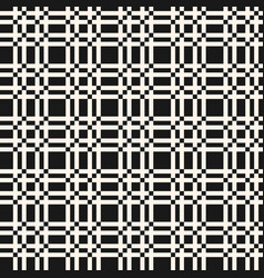 Lattice seamless pattern square abstract grid vector