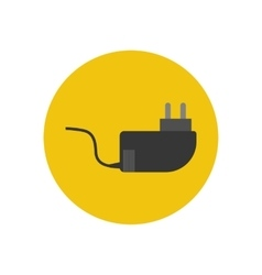 Power cable icon vector image