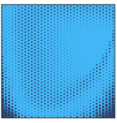 Retro comic blue background raster gradient vector