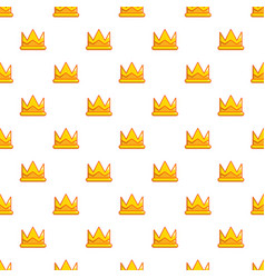 son of king crown pattern seamless vector image