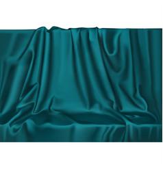 Unn izumrud drape background vector