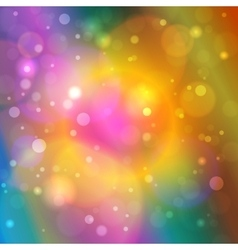 Vibrant Abstract Bokeh Background vector