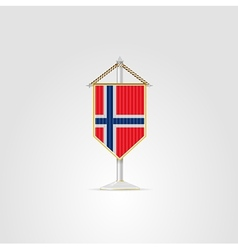 national symbols of European countries Norway vector image