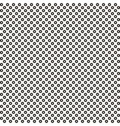 pattern black circle white circle inside seamless vector image vector image