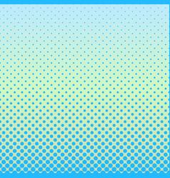 halftone gradient dot pattern background - design vector image vector image