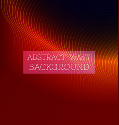 Abstract wavy background8 vector
