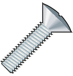 Bolt nut icon vector