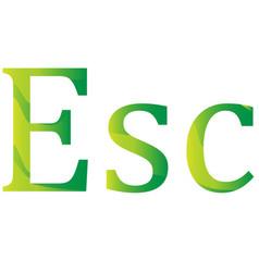 Cape verde escudo currency symbol icon vector