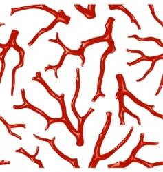 Coral seamless texture vector