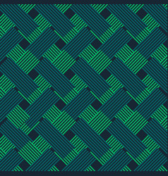 Green and blue fabric style pattern background vector
