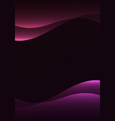 line curve transparent layer abstract background vector image