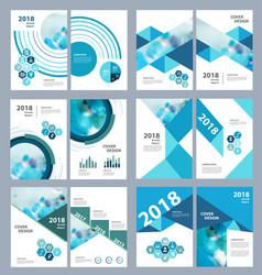 Medical brochure design template flyer vector