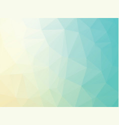 orange blue geometric background vector image