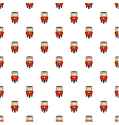 Thailand taxi pattern seamless vector