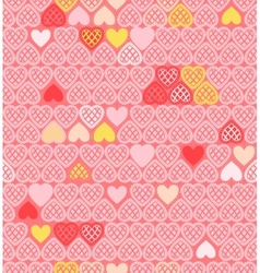 background of Valentines day vector image