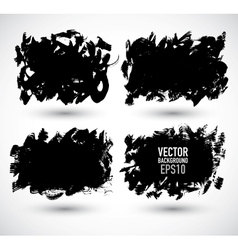 Set grunge Banner vector image vector image
