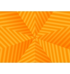 Abstract orange stars striped background vector