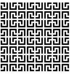 Abstract seamless pattern background maze of vector