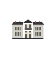 city element two-storey apartment or public vector image