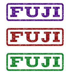 Fuji watermark stamp vector