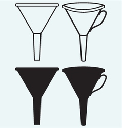 Funnel made vector