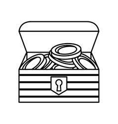game Treasure chest icon vector image vector image
