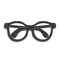 Glasses icon Fashion style design graphic vector