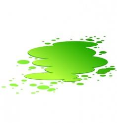 Splash toxic poison vector