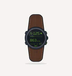 Sport watch icon vector image