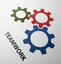 Teamwork Stock vector image vector image
