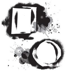 Grungeshapes vector image