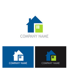 home square logo vector image vector image