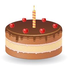 cake 01 vector image