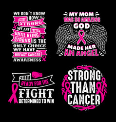 breast cancer quotes saying 100 best for print vector image