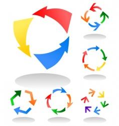 circulation4 vector image