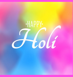 Holi festival colors explosion colors vector