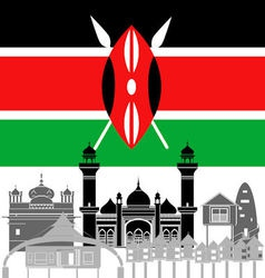 Kenya vector