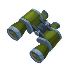 Military binoculars optical device focus spying vector