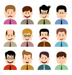 people in emotions vector image