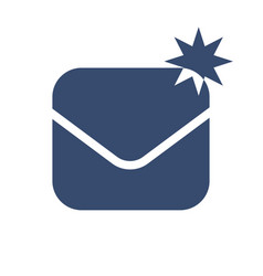 envelope icon symbol vector image