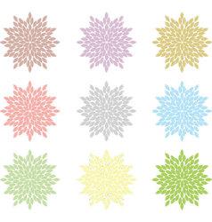 Flower Floral Element vector image vector image