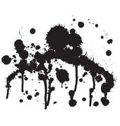 PaintSplatter4 vector image vector image