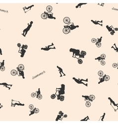 a seamless pattern with the vector image