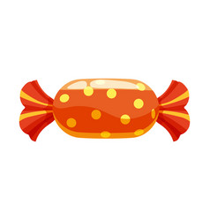 candy colorful sweet bonbon candies in bright vector image