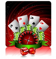 casino vector image