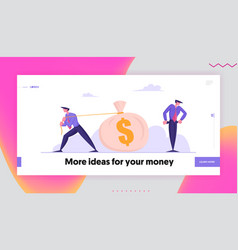 Gambling economy crisis or bankruptcy website vector