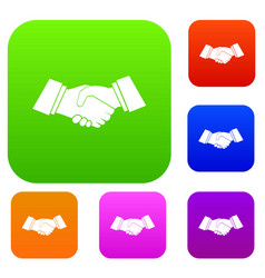Handshake set collection vector